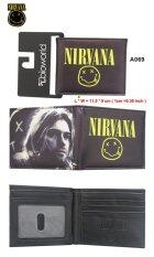 ขาย Rorychen American Rock Keppen Nirvana Band Around Anime Men And Women Fan Wallet Wallet Card Pack Intl ใหม่