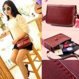 ขาย Rorychen Fashion Women Pu Leather Messenger Bag Shoulder Bag Crossbody Bag (Red) Intl Rorychen ถูก
