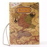 ขาย Rorychen World Map Three Dimensional Passport Folder Fashion Passport Sets Of Identity Documents Sets Of Passport Package(Yellow) Intl เป็นต้นฉบับ