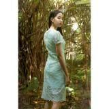 ซื้อ Rosamoda Ribbon Lace Dress Mint ออนไลน์ ถูก