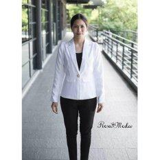 ราคา Rosamoda Smart Chic Blazer Suits White ออนไลน์