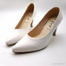 ราคา Rovy รองเท้าคัชชูผู้หญิง ส้นสูง3นิ้ว ทรงทางการ W1103
