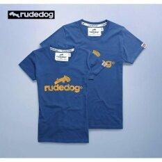 ซื้อ Rudedog เสื้อยืด ผู้ชาย รุ่น Logo2018 สีดิฟซี ออนไลน์ ถูก