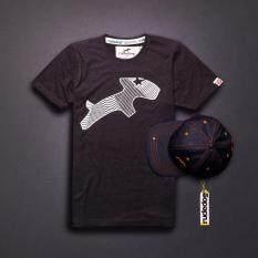 ราคา Rudedog เสื้อยืด ผู้ชาย รุ่น Net สีท๊อปดำ ที่สุด
