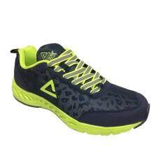 ขาย Peak รองเท้า วิ่ง มาราธอน ระบายอากาศ พีค Running Shoe รุ่น E53107H Blue Acid Green ผู้ค้าส่ง