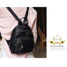 โปรโมชั่น Ruyuan กระเป๋า กระเป๋าเป้ กระเป๋าสะพายหลัง Backpack รุ่น No 02237 Black ถูก