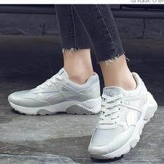ขาย Sabai รองเท้าผ้าใบแฟชั้นผู้หญิงสไตล์เกาหลี 1727 สีเงิน Unbranded Generic ถูก