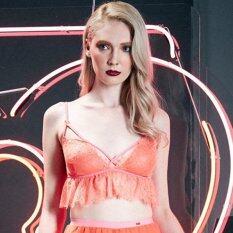 ราคา Sabina ชุดนอน Viora Valentines Teaser รหัส Sev1067 สีส้ม ใหม่ ถูก