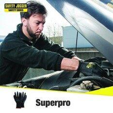 Safety Jogger รุ่น Superpro ถุงมือเซฟตี้ ถุงมือนิรภัย เหมาะสำหรับงานอุตสาหกรรมโลหะ.