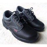 ราคา Safety Shoes รองเท้าเซฟตี้ รองเท้านิรภัย หนังแท้ พื้นยางกันลื่น หัวเหล็ก พื้นเสริมแผ่นเหล็ก Unbranded Generic ออนไลน์