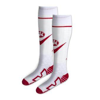 SAKKA SKE-17501 : ถุงเท้าฟุตบอล พรีเมียม (ขาว)