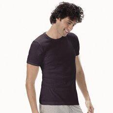 ราคา Sanremo แซนรีโม เสื้อแขนสั้นคอกลม Double Hygienic รุ่น Nis Scd1 Bl สีดำ Sanremo ออนไลน์
