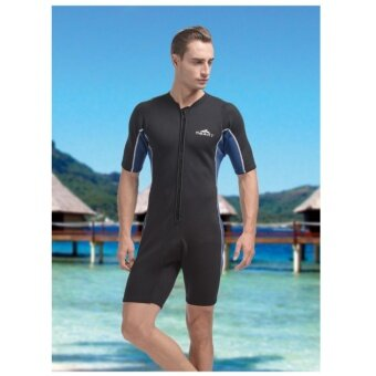 bc5eea7bb การส่งเสริม SBART One-piece short-sleeved wetsuit Rushguard for women's 2mm  SCR Neoprene diving snorkeling suit ซื้อที่ไหน - มีเพียง ฿2,207.00