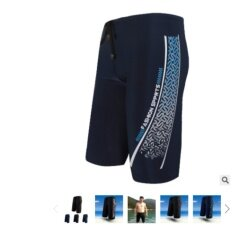 Scs  กางเกงน้ำชาย กางเกง5ส่วน (สีนำ้เงิน) รุ่น 2207.