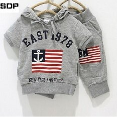 ซื้อ Sdp Summer 369 Digital National Flag Children Clothing Set Kids Clothes For Boys Girls Sport Suits T Shirt Hoodies Pant Intl ออนไลน์ ถูก