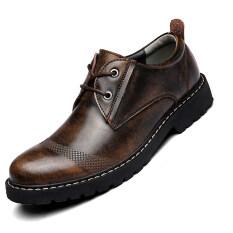 ขาย รองเท้ารองเท้า Seanut ผู้ชาย S รองเท้าลูกไม้ต่ำตัดรองเท้า สีน้ำตาลเข้ม ถูก ใน จีน