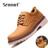 ราคา รองเท้ารองเท้า Seanut ผู้ชาย S รองเท้ารองเท้าลำลอง สีน้ำตาล Seanut ใหม่