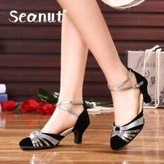 ซื้อ รองเท้า Seanut Women S Latin Dance รองเท้าแฟชั่นส้นรองเท้าแตะสบาย N เต้นรำรองเท้า Galaxy Seanut เป็นต้นฉบับ