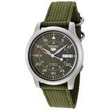 Seiko 5 Military Automatic Men S Watch รุ่น Snk805K2 Green เป็นต้นฉบับ