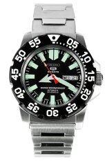 ทบทวน ที่สุด Seiko Mini Monster นาฬิกาข้อมือผู้ชาย สีเงิน สายสแตนเลส รุ่น Snzf51K