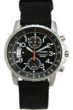 ขาย Seiko Tachymeter Chronograph นาฬิกาข้อมือผู้ชาย สีดำ สายผ้า รุ่น Snn079P2 ออนไลน์ บุรีรัมย์