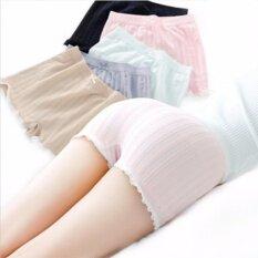 Set 6 ตัว กางเกงซับใน กางเกงกันโป๊ะ กางเกงใน กางเกงใส่นอนญี่ปุ่น 6 สี เป็นต้นฉบับ