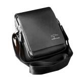 ซื้อ ออสเตรเลีย สหราชอาณาจักร ผู้ชายกระเป๋าสะพายกระเป๋าแนวข่าวภู ขนาด M สีดำ ออนไลน์ ถูก