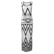 ราคา S*xy Womens Summer Boho Casual Long Maxi Evening Party Cocktail Beach Dress White Intl Zanzea ออนไลน์