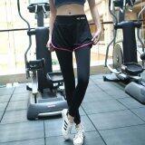 โปรโมชั่น Sexysport กางเกงออกกำลังกายขายาว 2 ชั้น สีดำ ชมพู Thailand