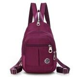 กระเป๋าเป้สะพายหลังคู่กระเป๋าเป้ท่องเที่ยว ลึกสีม่วง ใหม่ล่าสุด