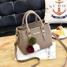 กระเป๋าถือสำหรับผู้หญิง กระเป๋าแฟชั่นสไตล์เกาหลี สีกากี สีกากี Other ถูก ใน ฮ่องกง
