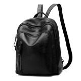 ราคา ถุงเกาหลีหญิงกระเป๋าเป้สะพายหลังที่เดินทางมาพักผ่อนนางสาว สง่างามสีดำ ใหม่ ถูก
