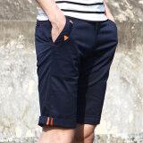 ซื้อ Shishang ชายผอมกางเกงยืดชายกางเกงห้ากางเกง สีน้ำเงินเข้ม ใหม่