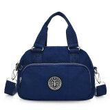 ขาย ซื้อ ออนไลน์ Shishang ไหล่เส้นทแยงมุมนางสาวขนาดเล็กถุงกระเป๋าถือ สีน้ำเงินเข้ม