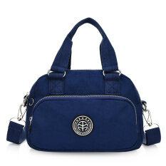 ราคา Shishang ไหล่เส้นทแยงมุมนางสาวขนาดเล็กถุงกระเป๋าถือ สีน้ำเงินเข้ม เป็นต้นฉบับ Other