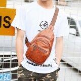 ขาย ซื้อ ออนไลน์ ถนนแฟชั่นเกาหลีเยื่อหุ้มสมองชายเดี่ยวกระเป๋าสะพายกระเป๋าคน Park S Park S