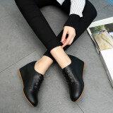 ขาย หนังลูกไม้เพิ่มขึ้นภายในหญิงรองเท้าเกาหลี Shunv Xie สีดำ ฮ่องกง