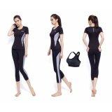 ซื้อ Siboon ชุดออกกำลังกาย ชุดโยคะ ฟิตเนส เสื้อแขนสั้น บรา กางเกงขาสี่ส่วน สำหรับผู้หญิง Sport And Yoga Suit Top Long Black ถูก ไทย