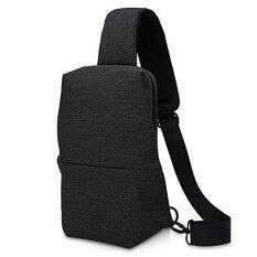 ทบทวน Simplicity Sling Bag Chest Pack Casual Crossbody Travel Shoulder Bag For Women Men Intl