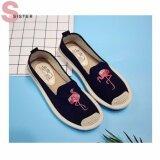 ขาย รองเท้าผ้าใบ Sister Flamingo สีดำ ไทย ถูก