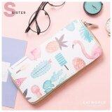 ขาย กระเป๋าสตางค์ Sister Flamingo สีขาว ออนไลน์ ไทย