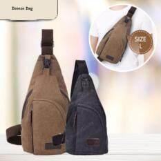 ราคา กระเป๋าคาด อก คาดเอว สะพายข้าง Size L 35X20X7Cm ออนไลน์ Thailand