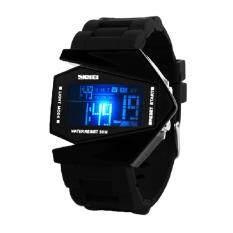ราคา Skmei 0817B จอแสดงผล Led สไตล์ทหารรบสำหรับบุรุษนาฬิกาข้อมือตู้ สีดำ ใหม่ล่าสุด