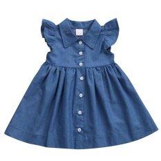 ขาย Sleeeveless Toddler Baby Kids G*rl Princess Summer Sundress Party Dress Clothes Intl จีน ถูก