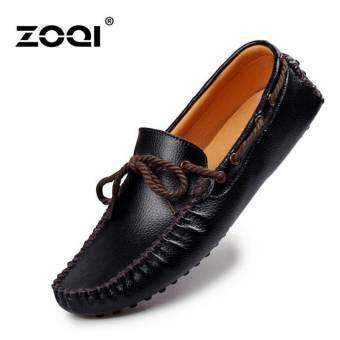 ลื่นและรองเท้าโลเลสรองเท้าแฟชั่นผู้ชาย ZOQI รองเท้าคัทชู-