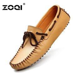 โปรโมชั่น ลื่นและรองเท้าโลเลสรองเท้าแฟชั่นผู้ชาย Zoqi รองเท้ารองเท้า สีเหลือง สนามบินนานาชาติ จีน