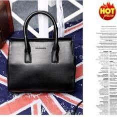 ราคา Small Target กระเป๋าถือ พร้อมสายสะพาย กระเป๋าสะพาย แบบมีหูหิ้ว รุ่น No 02226 สีดำ ถูก
