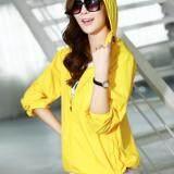 ทบทวน ที่สุด Smartshopping เสื้อกันแดด เสื้อคลุมกันแดด เสื้อกัน Uv เสื้อแขนยาวกันยูวี ไซส์ S สีเหลือง