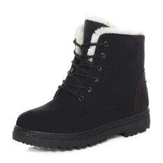 ทบทวน รองเท้าบูท Snow Boots Martin Boots ร้านค้าโรงงานของเกาหลีรองเท้ากันน้ำ N สุภาพสตรีรองเท้า Unbranded Generic