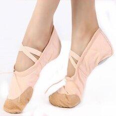 ขาย Soft Child *d*lt Canvas Womems Ballet Dance Shoes Yoga Gymnastics Practice Shoes D50 Color Beige Intl Unbranded Generic ผู้ค้าส่ง